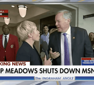 Rep. Mark Meadows shuts down MSNBC reporter on air 2