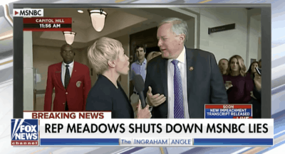Rep. Mark Meadows shuts down MSNBC reporter on air 8