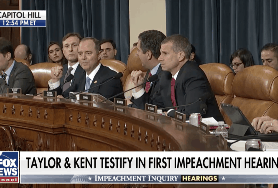 Schiff Shut Down: Tries to Instruct Amb. William Taylor How to Answer 1
