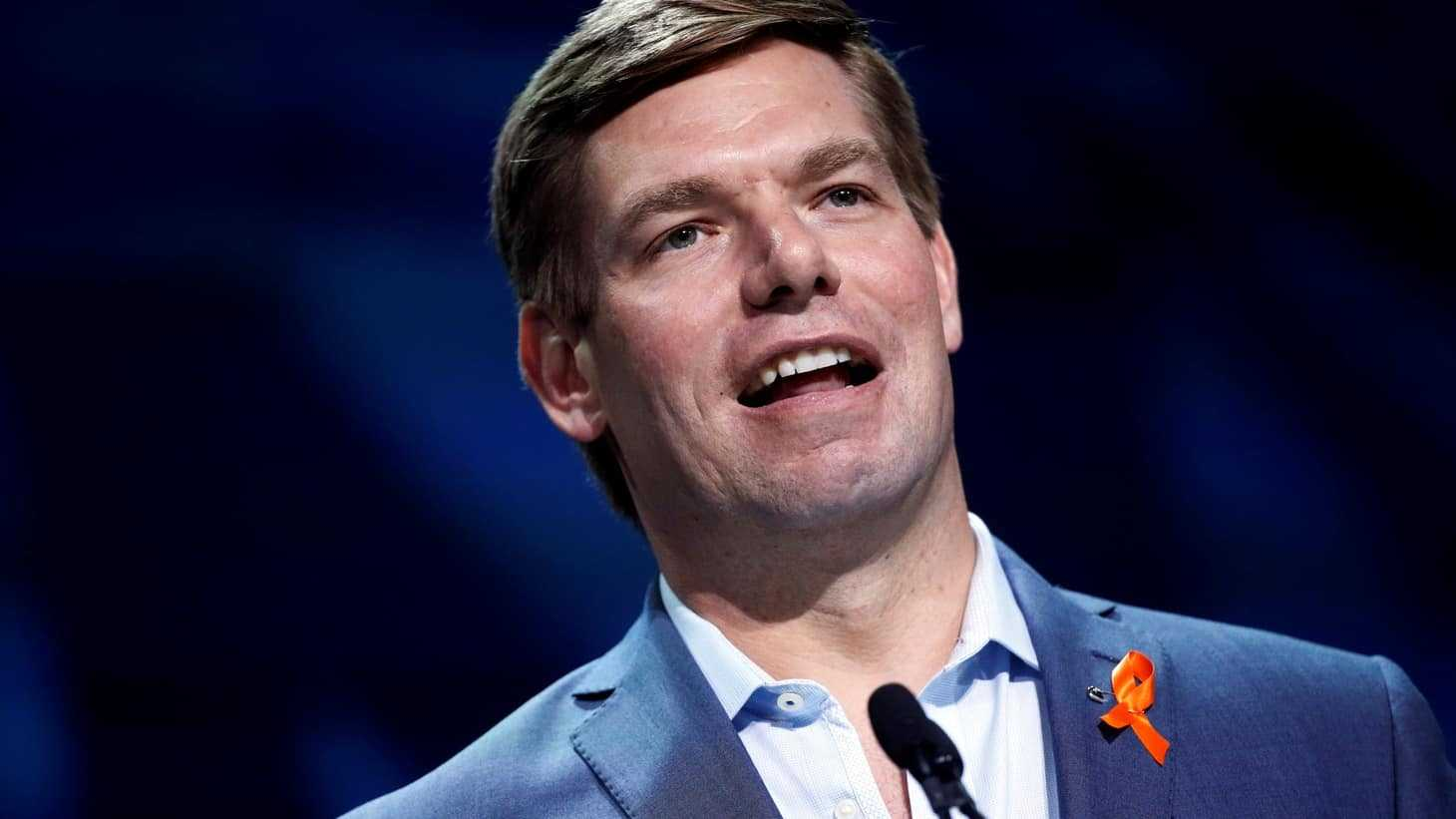 FARTGATE: Rep. Eric Swalwell Appears to Pass Gas On Live TV 1