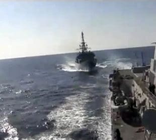 WATCH: Russian spy ship 'aggressively approached' US destroyer in North Arabian Sea 3