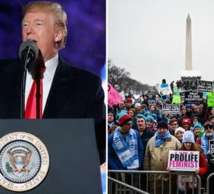 Mediaite's Dangerous Lie About Trump's March for Life Speech 7