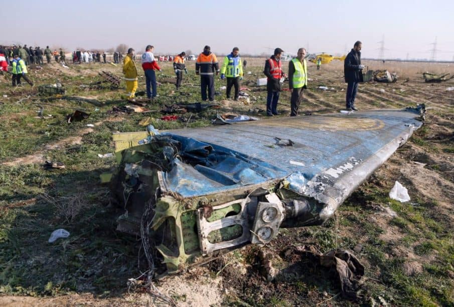 U.S. and Canadian Officials Saying Iran Missile Shot Down Ukrainian Plane 1