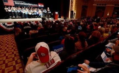 Bernie Sanders gathering