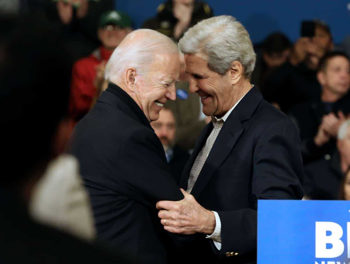 John Kerry and Joe Biden
