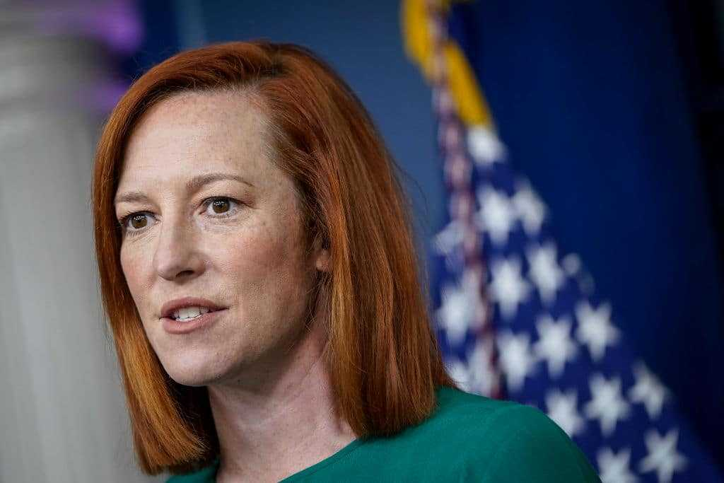 Psaki Repeats Biden's Debunked Claims About Georgia Election Laws   The Jeffrey Lord