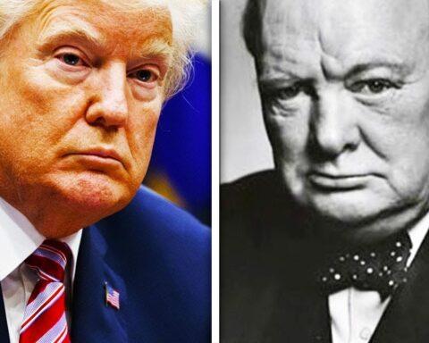Trump Churchill